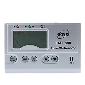 ammoon 3 en 1 LCD Automático Digital Universal Afinador Cromático Generador de Tonos Metrónomo con Micrófono: Amazon.es: Instrumentos musicales