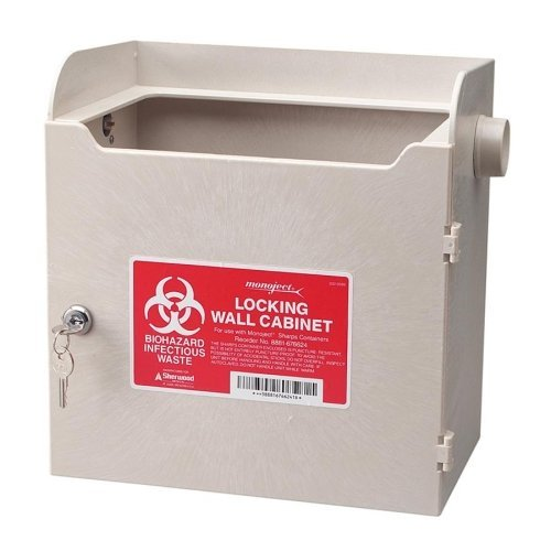 Covidien Monoject Sharps Locking Cabinet SLWC019624 by Unimed-Midwest, Inc.