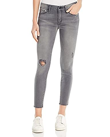 Mother Women's The Looker Skinny Ankle Jeans in Last Chance Ranch (Grey) Size 25 - Chance Ranch