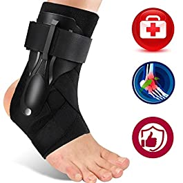 Ankle Support, Ankle Brace for Men & Women, Ankle Support Brace for Ankle Sprains, Sprained Ankle, Ankle Braces…
