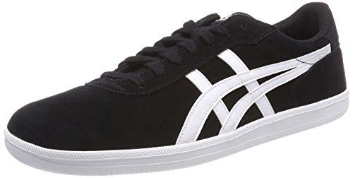 Asics Men Percussor TRS Low-Top Sneakers Black (Black/White 9001)