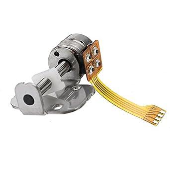 hitsan dc 5v 2 phase 4 wire stepper motor dc motor one piece amazon hitsan dc 5v 2 phase 4 wire stepper motor dc motor one piece