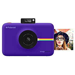 Polaroid Snap Touch Instant Print Digital Camera With LCD Display (Purple) with Zink Zero Ink Printing Technology