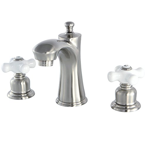 Elegant Brass Widespread Faucet - 9