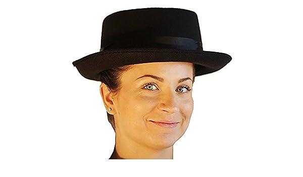 One Size Accessories-Heisenberg-Breaking Bad-Fancy Dress-Black-POPPINS HAT