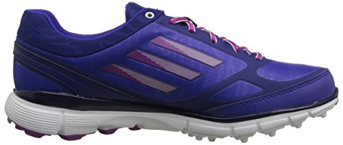 Adidas Womens W Adizero Sport Iii Scarpa Da Golf Night Flash / Amazon Purple / Lucky Pink