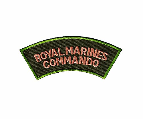 Royal Marines Commando Embroidered Iron on Patch