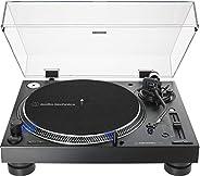 Toca-Discos Audio-Technica Audio-Technica Manual DJ Profissional AT-LP140XP-BK Direct-Drive com cartucho AT-XP