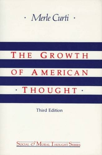 Image of The Growth of American Thought