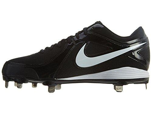 Nike Mvp Strike Low Metal Wh / Blk Tacchetti Da Baseball In Metallo Da Uomo Us 9 M, Eu 42.5
