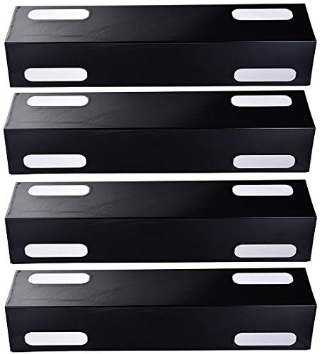 Votenli P9935A (4-Pack) Porcelain Steel Heat Plate and Heat Shield for Ducane Affinity 3073101, 3000, 3100, 3200, 3300, 3400, 4100, 4200, 4400