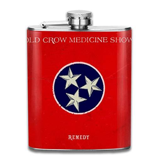 Robert R Castleberry Unisex Old Crow Medicine Show Remedy Antibacterial Hygiene Stainless Steel -