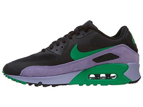 Zapatos de entrenamiento Air Max Hyperfuse superior del deporte Black / Stadium Green-Medium Violet