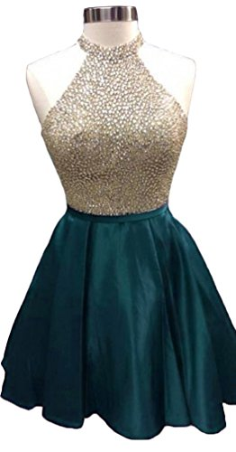 beaded back prom dresses - 5