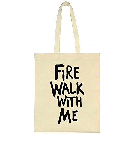 Bag Tote Fire Popular Phrase Walk With Me nwT8qOYf4