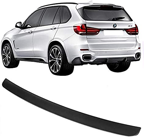 Roof Spoiler Compatible With 2014-2017 BMW F15 X5 2015 2016 MP Style ABS Black Rear Wind Spoiler Wing By IKON MOTORSPORTS
