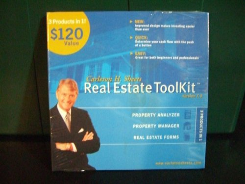 Real Estate Toolkit Version 7.0 (Cd. Rom) - Carleton Sheets