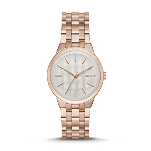 DKNY Women's NY2383 PARK SLOPE Rose Gold-Tone Stainless Steel Watch