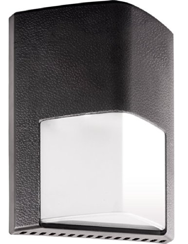 RAB Lighting ENTRA12N/PCS Entra 12W Neutral LED 120V PCS Wallmount Light, Bronze by RAB Lighting