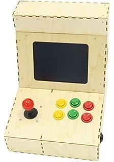 Cupcade the Raspberry Pi-Powered Micro Arcade Cabinet Kit: Amazon ...