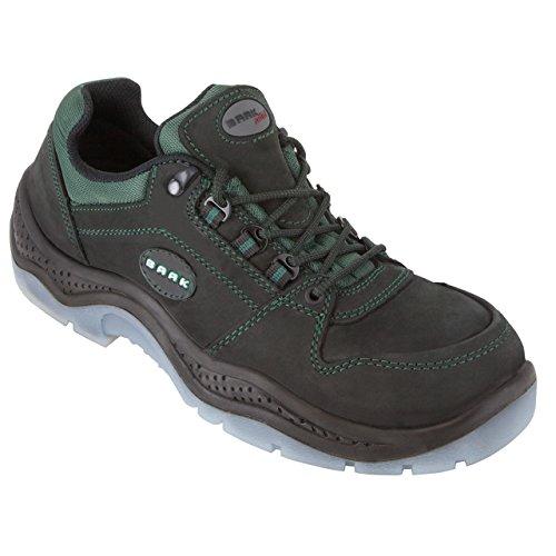 De seguridad zapatos de seguridad Alex 1240 perfectamente Plus S2 de cuero zapatos de seguridad de colour gris, Gris, 1240