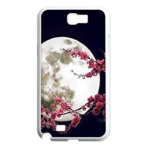 Moon ZLB599402 Personalized Phone Case for Samsung Galaxy Note 2 N7100, Samsung Galaxy Note 2 N7100 Case