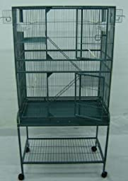 New Large Wrought Iron Bird Parrot Cage Cockatiel Conure Large 30\