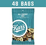Cheap Kar's All Energy Unsalted Trail Mix 2 oz Single Serving Bags – Peanuts, Banana Chips, Raisins, Sunflower Kernels, Peanuts, Dates, Mangos & Almonds (Pack of 48)
