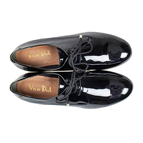 Van in Black Womens Dal Loafers Cagney Shoes Patent rYnPrwHq6X