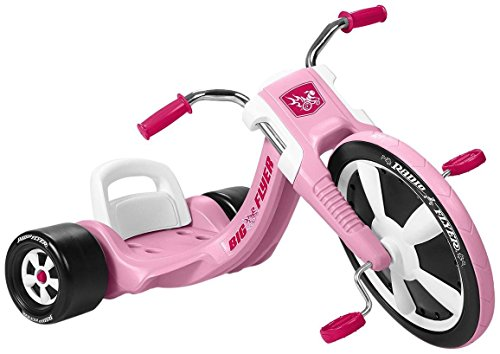 - Radio Flyer Deluxe Big Flyer, Pink