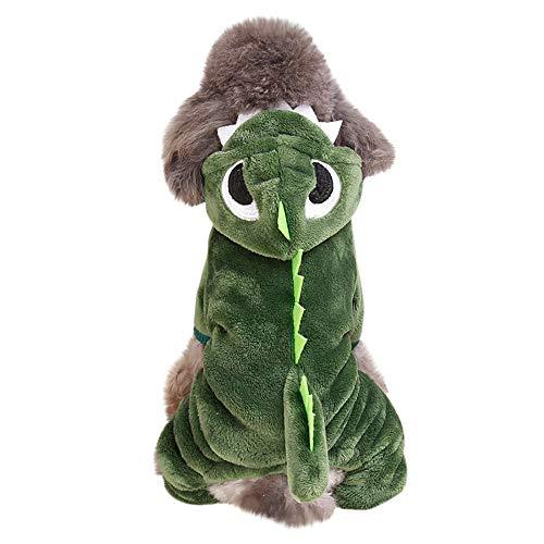 Kangaroo Costumes For Dog - FTXJ Cute Dinosaur Transfiguration Coat Dress