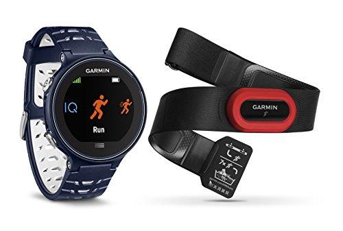 Garmin Unisex GPS-Laufuhr Forerunner 630 inkl. Herzfrequenz-Brustgurt, 16 Stunden Akkulaufzeit