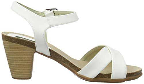 Jonnys Veganistische Vrouwen Luna Sandaaltjes Witte (blanco)