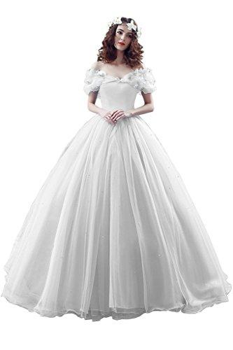 Missdressy - Vestido - para mujer Blanc - blanc