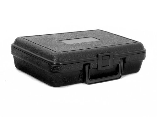 Cases By Source B1062 Blow Molded Empty Carry Case, 10.25 x 6.5 x 2.625, Interior