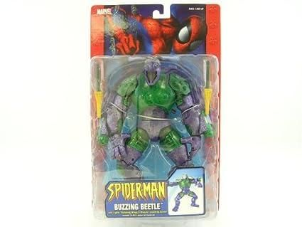 Spider-Man Buzzing Beetle Action Figure: Amazon.es: Juguetes ...