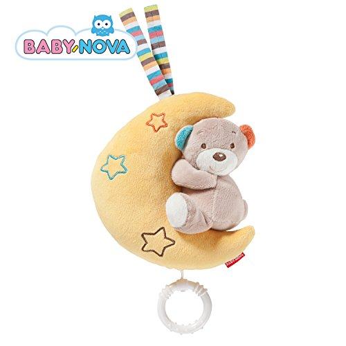 Baby-Nova Baby Spieluhr MOND mit Bär und Musik
