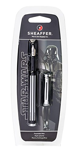 Sheaffer Star Wars Darth Vader Pop Fountain Pen in Retail Packaging (E0920851S)]()