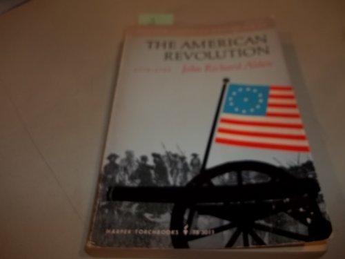 American Revolution, Seventeen Seventy Five to Seventeen Eighty-Three (Torchbooks)
