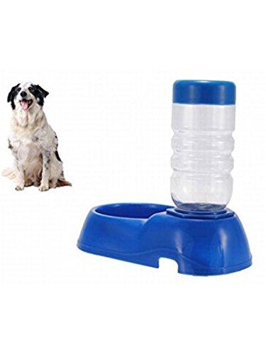ducomi® Pets Wasser + Verteiler Schalter von Wasser für Hund und Katze, Tränke für Haustiere, blau