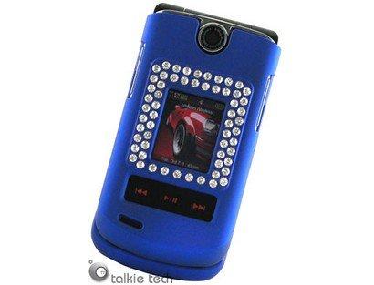 Diamond Protector Cover Case Dark Blue For LG VX8600
