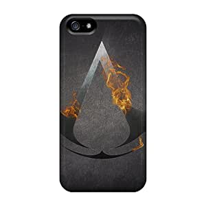 Iphone 5/5s Cover Case - Eco-friendly Packaging(assassins Creed Logo)
