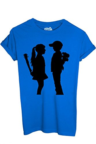 Style Bambini Bambino blu Famosi shirt T l Dress Mush Banksy By Your Royal qg68Faw