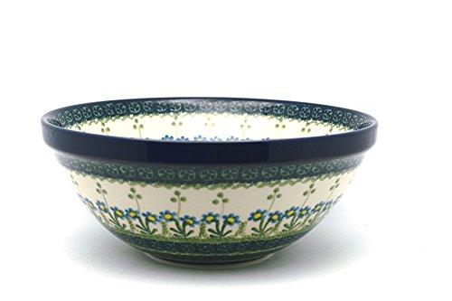 Polish Pottery Bowl - Larger Nesting (9