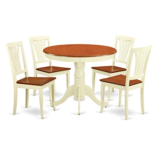 kitchen table chairs set round