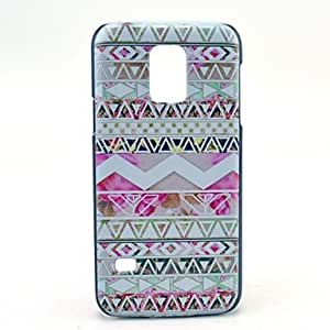 WQQ Tribal Wave Pattern Hard Case Cover for Samsung Galaxy S5 Mini SM-G800