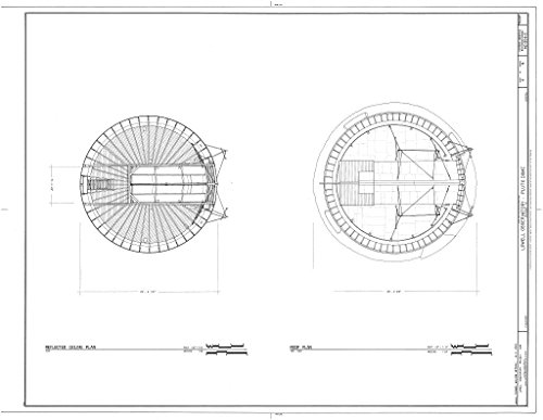 historic pictoric Blueprint Diagram HABS ARIZ,3-FLAG,1C-  -