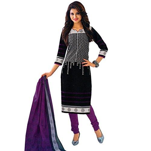 Designer Printed Cotton Salwar Kameez Ready To Wear Indian Pakitani Dress (Pakistani Designer Shalwar Kameez)