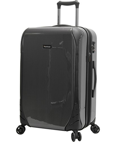 pathfinder-aviator-luggage-25-hard-side-expandable-spinner-suitcase-25in-graphite