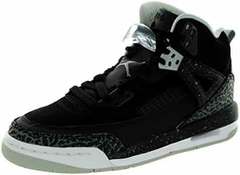 brand new ba2e3 6049a Jordan Nike Kids Spizike Bg Black Cool Grey Gry Mist White Basketball Shoe